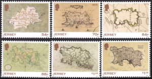 JERSEY 2021 MAPS SEPAC JOINT ISSUE CARTE KARTE [#2103]