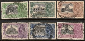INDIA 142/148, SHORT SET, #146 MISSING. USED. VF (448)