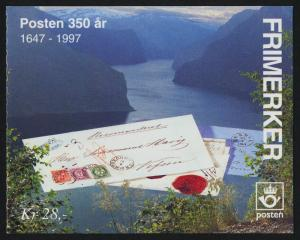 Norway 1112a Booklet MNH Stamp on Stamp
