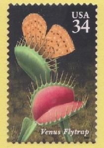 3528 Carnivorous Plants F-VF MNH single