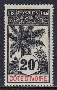 Ivory Coast - Scott #26 - MH - Thin - SCV $10