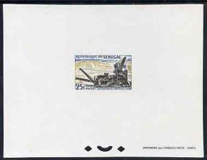 Senegal 1964 Industries 25f Working Phosphate epreuve de ...