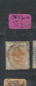 ORANGE FREE STATE (P0610B)  1/-  SG 8  VFU