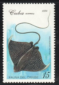 1994 Cuba Stamps  Sc 3605 Fish Aetobatus narinari MNH