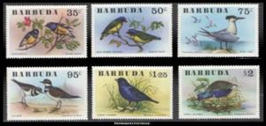 Barbuda Scott 238-243 Mint never hinged.