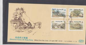 Hong Kong Stamps Cover 1987 Ref: R7587