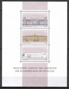 Germany - Bund - Scott 1466 MNH - Buildings of the Republic (SP)