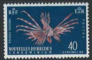 New Hebrides Scott 118 MNH!