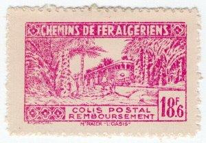 (I.B) France Colonial Railway : Algeria Chemins de Fer 18.6F