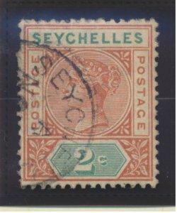 Seychelles Stamp Scott #2, Used
