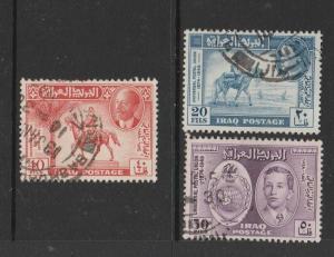 Iraq 1949 UPU Used SG 339/41