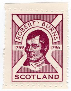 (I.B) Cinderella Collection : Robert Burns Patriotic Label