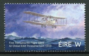 Ireland 2019 MNH First Transatlantic Flight Centenary 1v Set Aviation Stamps