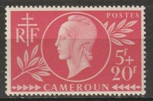Cameroun 1944 Sc B28 Yt 265 MLH*