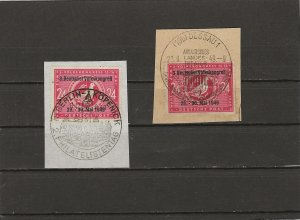 Germany Soviet Zone 1, Mi 233 I & 233 II used