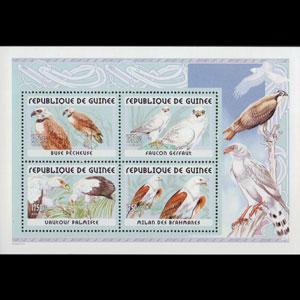 GUINEA 2001 - MI# B691A S/S Eagles NH
