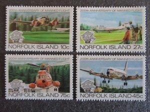 Norfolk Island #310-13 Mint Never Hinged- (4DC) WDWPhilatelic