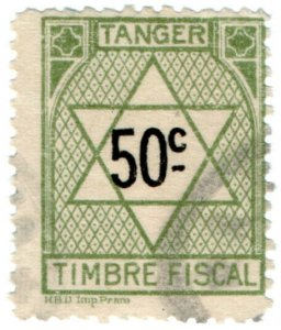 (I.B) France Colonial Revenue : Tangier Duty 50c