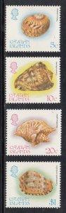 Cayman Islands Scott #502-505 MNH
