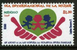 MEXICO 2065, Womenr's Day, 1998. MINT, NH. VF. (69)