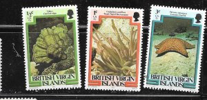 British Virgin Islands #364-3664 Marine Life (MNH) CV$3.25