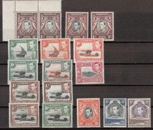 KUT - 1938/1952 KGVI stamp collection - MNH (7650)