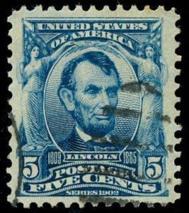 momen: US Stamps #304 Used PF Cert SUPERB
