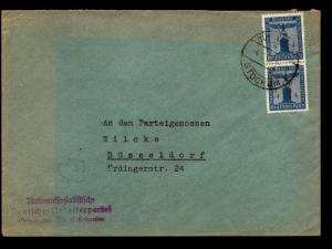Germany 1930s Official Cover / 4Pf Pair - Z14058