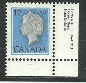 Can #713    -1    used VF  1977  PD