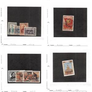 Lot of 227 Russia Used Stamps Scott Range 952 - 6102, C91 - C108 #132183 X