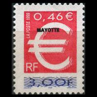 MAYOTTE 1999 - Scott# 125 Euro Opt. Set of 1 NH