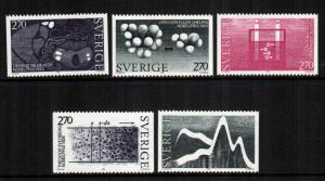 Sweden 1478 - 1482  MNH cat $ 6.25