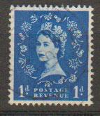 Great Britain SG 611 Used phosphor issue