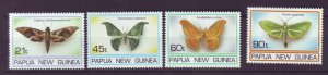 J21892 Jlstamp 1994 png set mnh #846-9 moths