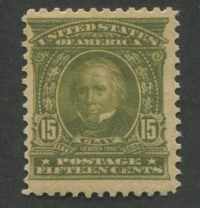 1903 US Stamp #309 15c Mint Never Hinged F/VF Henry Clay