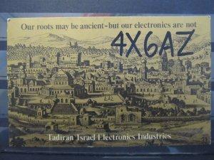 4209 QSL Card Tadiran Israel Electronics Industries 1980
