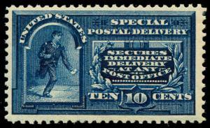 momen: US Stamps #E5 Mint OG NH VF Weiss Cert