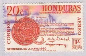 Honduras C313 Used Court verdict 1961 (BP3069)