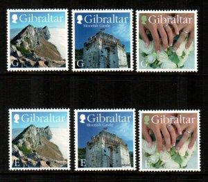 Gibraltar #1527-1532  MNH  Scott $8.85