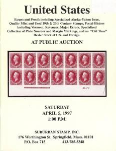 United States - Essays and Proofs, Stamps, Postal History...