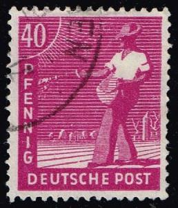 Germany #568 Sower; Used (0.65)