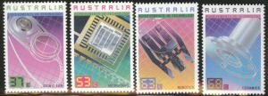 AUSTRALIA Scott 1036-1039 MNH** 1987 Technology stamp set