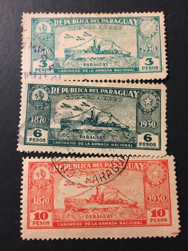 Paraguay sc C43,C46,C49 u