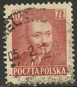 Poland 1950 Scott# 479 Used