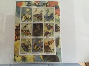 Angola 2000  Scouts Butterflies mint never hinged  stamps sheet R25064