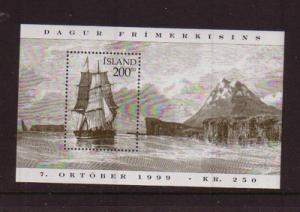 Iceland Sc 894 1999 Stamp Day stamp sheet mint NH