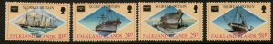 FALKLAND ISLANDS SG527/30 1986 AMERIPEX  MNH