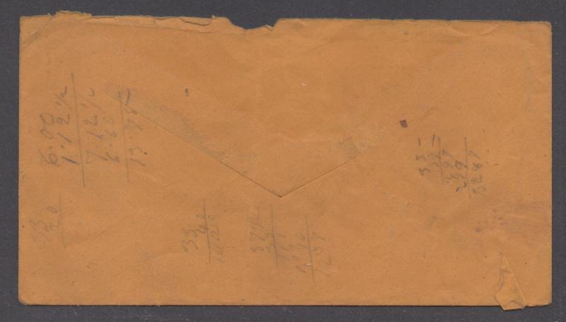 **CSA Cover, SC# 1 Tied by Blue CDS, Lynchburg, VA, 4/9/1861,2