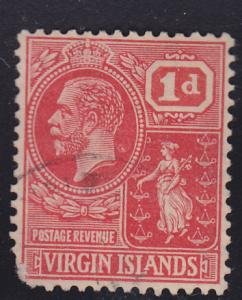 British Virgin Islands 54 Colony Seal 1922