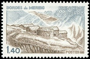 French Andorra 1981 #285 MNH. Architecture